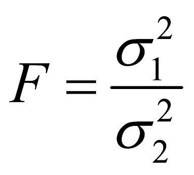 Abbildung 2: Berechnung des F-Wertes