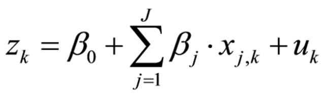 Abbildung 5: Logistische Regressionsgleichung