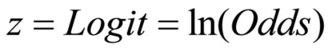 Abbildung 8: Logit-Berechnung