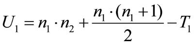 Abbildung 2: Berechnung der Teststatistik für Gruppe 1