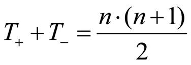 Abbildung 2: Zusammenhang zwischen T- und T +