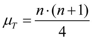 Abbildung 4: Teststatistik w bei Nichtvorhandensein von Mittelwertsunterschiede