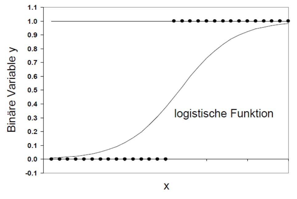 Abbildung 2: Logistische Funktion